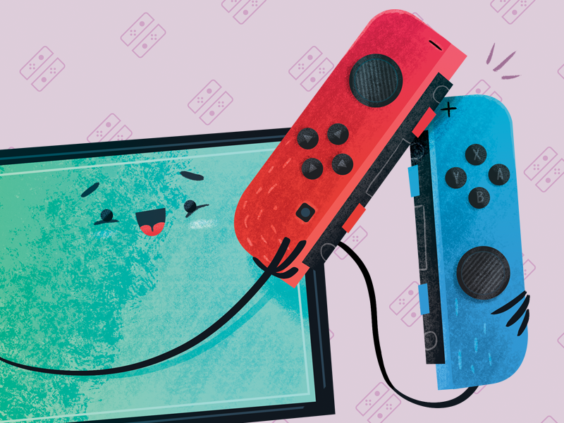 Switch joycons sm