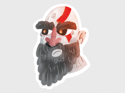 God of War - Kratos Sticker