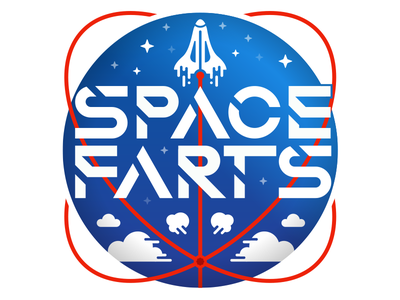 Space Force Update shuttle future badge military illustration vector