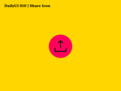 DailyUI 010 | Share Icon icons bright share icon share button share icon dailyui