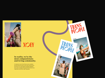 London's Trans+ Pride — art direction / pt2 transpride website typography layout art direction ui design