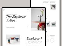 The Explorer Table