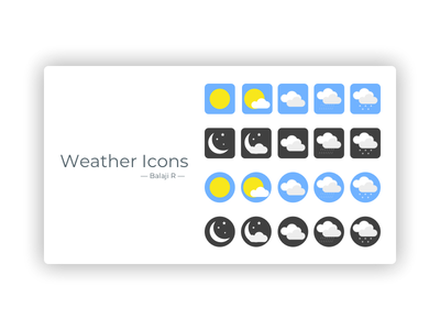 Weather Icons weather icons