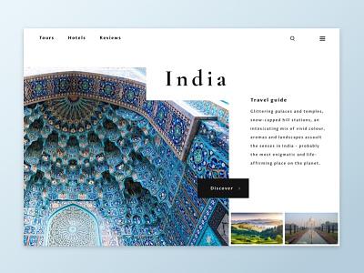 Daily UI #003 - Landing page homepage design ux ui sketchapp dailyui