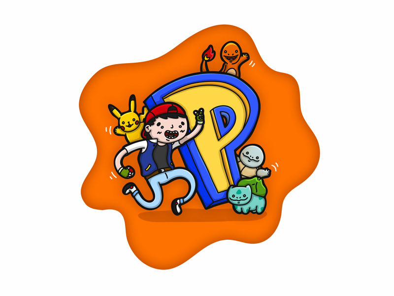 P Is For Pokemon By Billy Jazz On Dribbble