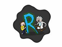 R is for Rick And Morty