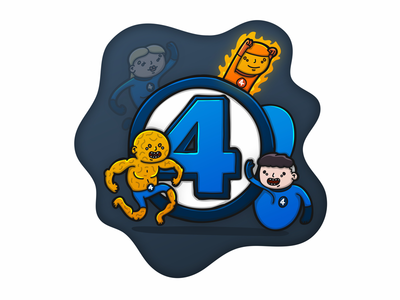 4 is for Fantastic Four