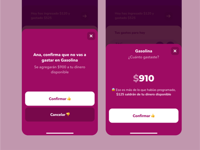Youles - Expense confirmation youles expense app ui
