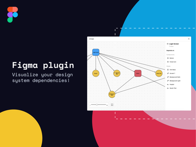 New Figma Plugin: Visualize your design system dependencies tools dependencies plugin figma design system