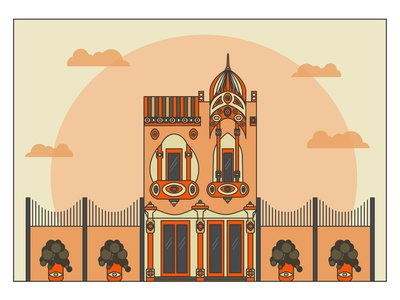 Indian style building