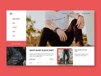 Exploration Web Design ~ Clothes