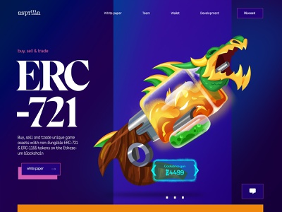ERC721 neo gaming ethereum gaming ethereum blockchain landing page video game landing blockchain gaming erc-1155 erc-721 game assets non-fungible