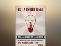 UX lab is open (Poster series - 4 of 4)