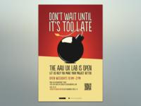 UX Lab Season 2 (Poster series - 1 of 2)