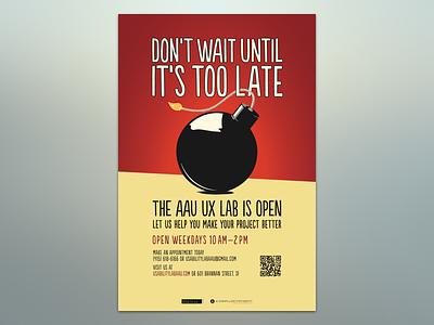 UX Lab Season 2 (Poster series - 1 of 2) print poster