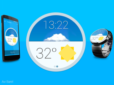 WatchApp - Material Design app material-design android watch smart-watch