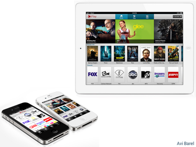 Mobile Video Player app ui ux android ios