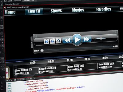 CU MediaPortal ux ui js html front-end design css c xaml xml vs