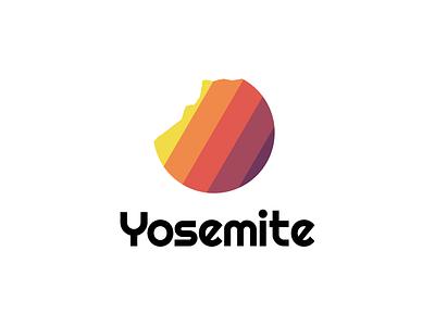 Yosemite Conservancy Logo epicurrence color logo branding yosemitechallenge logodesign