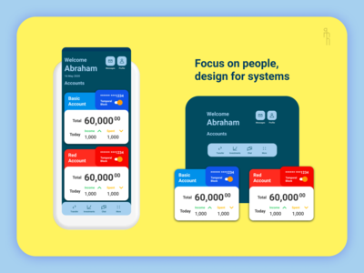AMH Bank app dribbble bank card bank app fintech ui design product design ux user experience user interface banking ui