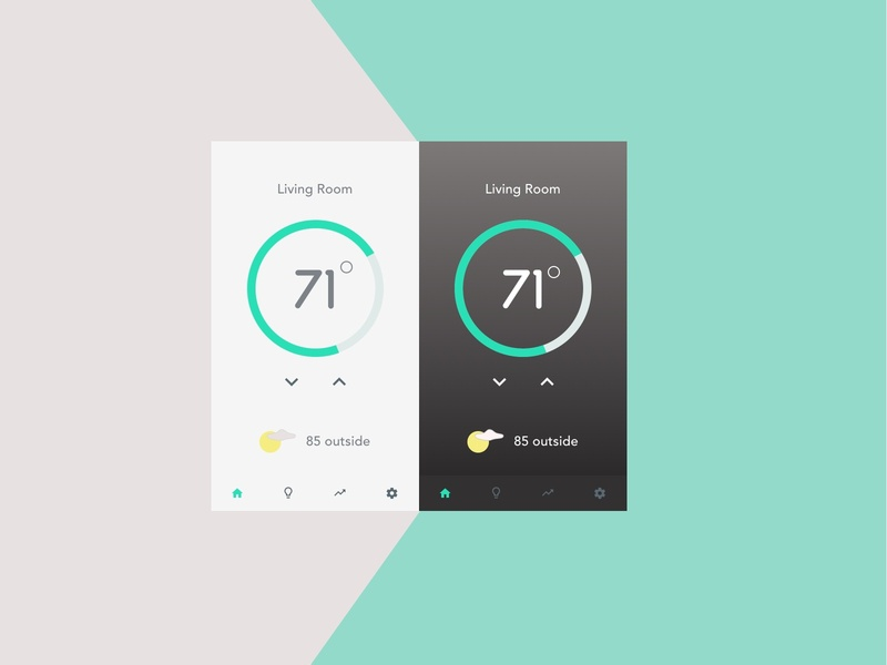 Daily UI | 021 - Home Monitoring Dashboard home monitoring dashboard daily ui 021 daily ui