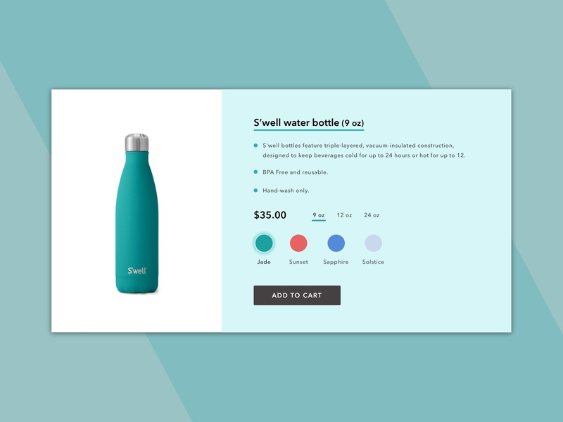 Daily UI | 033 - Customize Product customize product daily ui 033 daily ui challenge
