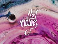 Indigo hand drawn logo