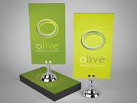 Olive Business Card Design