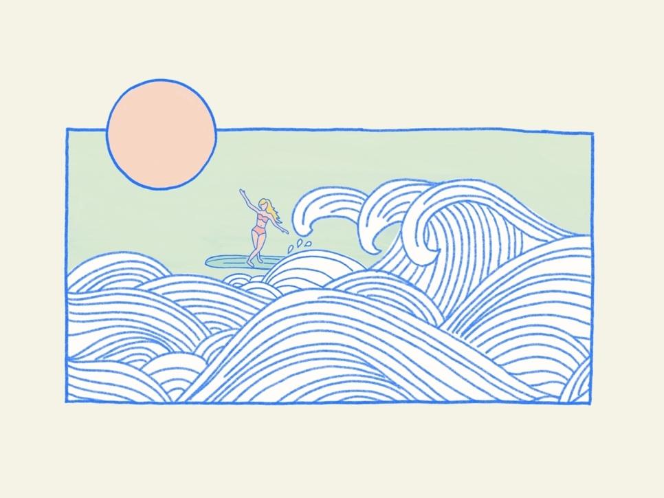 Surfing vacation california hawaii surfboard summer waves ocean surf woman surfing surfer girl surfer surfing