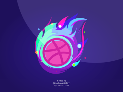 First Shot ! I'm Ready to Play ! colorfull vibrant onfire fire inkscape shot first shot