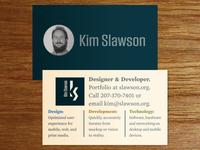 2015 Business Card Update