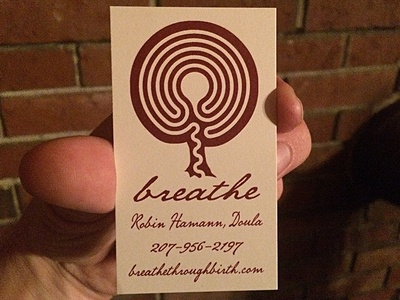Breathe Business Card