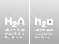 h2a Alkaline Water