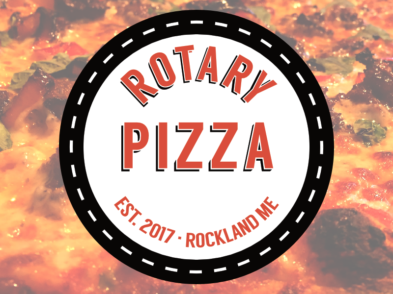 Rotary pizza logo for dribbble