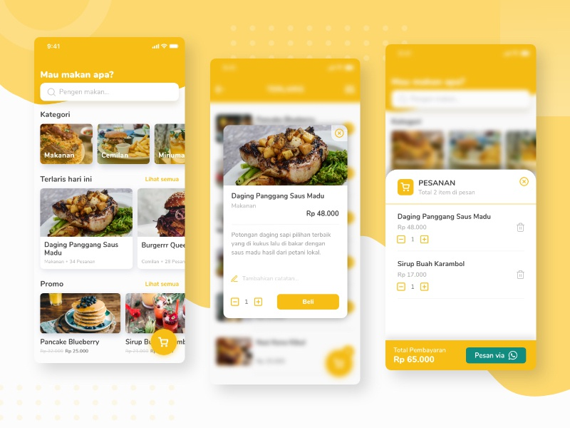 Food Ordering Mobile Website order food web branding project ui ios card design android website mobile app