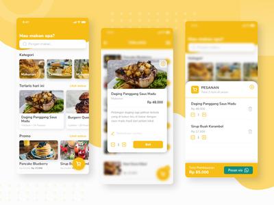 Food Ordering Mobile Website