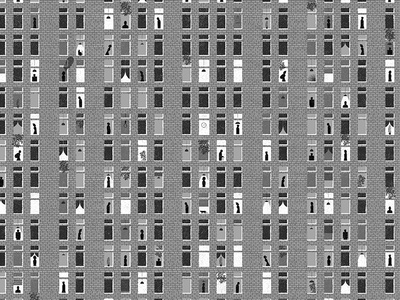 Living Space apartment home living space life editorial social building windows window people