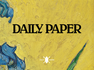 Vincent Van Gogh and Daily Paper