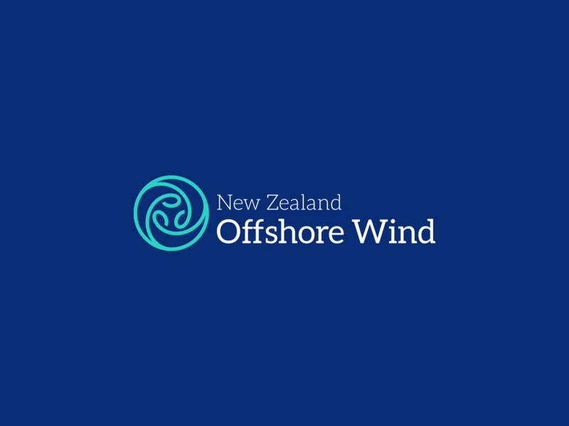 NZ Offshore Wind Logo maori new zealand turbine power energy wind logo