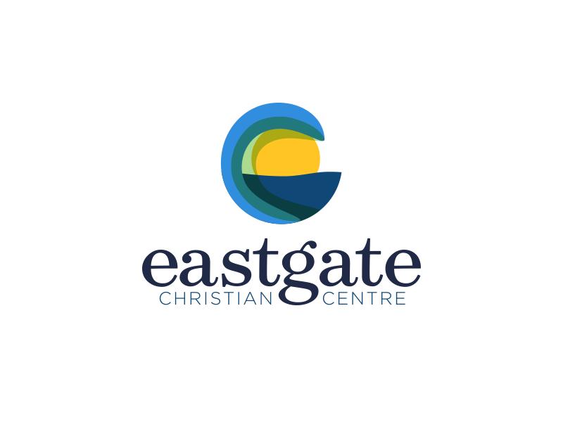 Eastgate Logo church christian wave sun sea