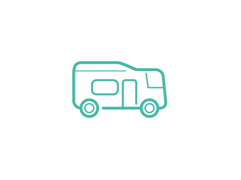Motor Home Icon insurance vehicle motor home icon