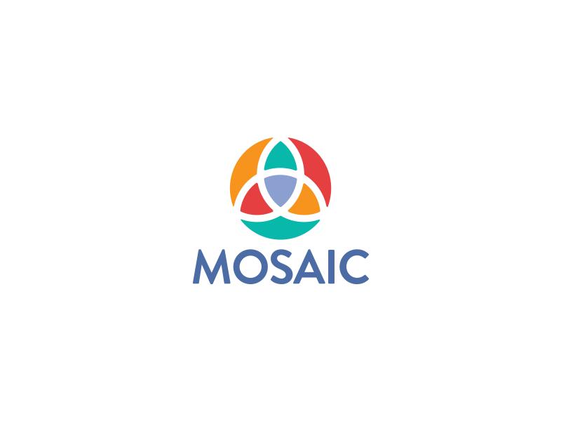 Mosaic trinity mosaic