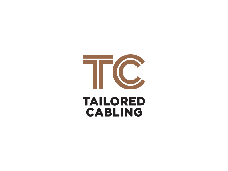 TC V2 black copper cable cabling