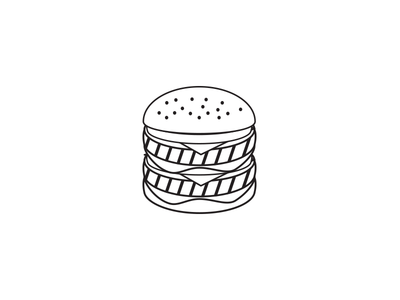 Burger Icon food icon burger