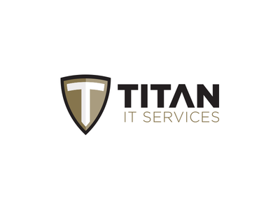 Titan IT Logo v1 security it shield t titan