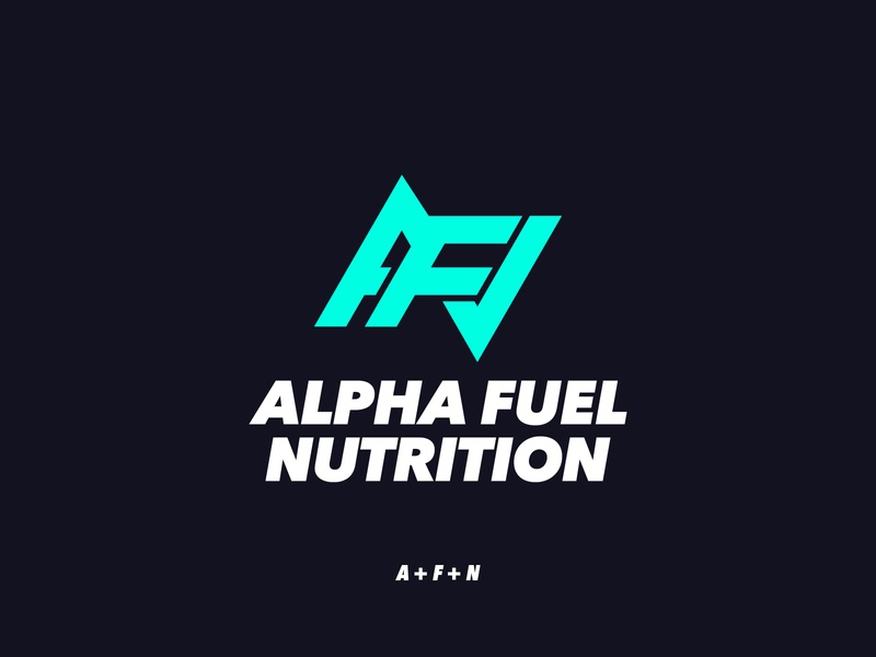 Alpha Fuel Nutrition Proposal logo designer gym fitness healthy foodie nutrition fuel alpha monogram icon simple type freelance branding graphic design minimal typography lettering design logo