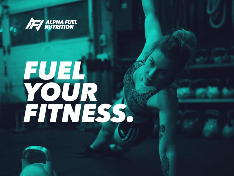 Alpha Fuel Nutrition Proposal Post wip proposal logo designer logo branding nutrition alpha muscle gym healthy active fuel fitness
