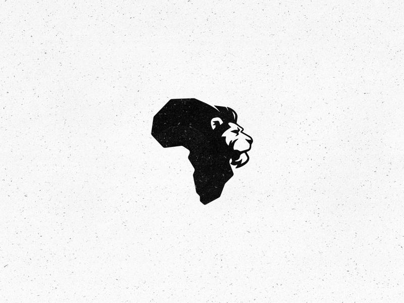 Shumba simple lion logo brand mark brand designer branding logo design freelance logo designer logo illustrator safari mzansi south africa zimbabwe shumba african africa lion