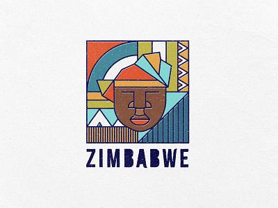 Amai Zimbabwe patterns african patterns colours adobe illustrator illustration line illustration line art design digital art motherland zimbo zimbabwe african africa stamp post offset postage stamp