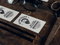 The Man Drawer Business Cards